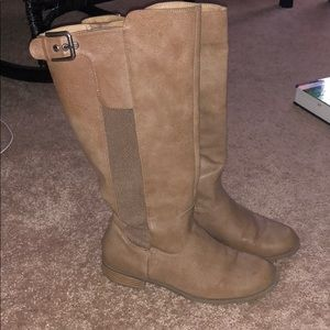 Kenneth Cole Tall Nude Boots